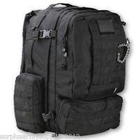 MILITARY RUCKSACK 60 LITRE 60L BERGEN DAYPACK BLACK BRITISH ARMY TRAVEL PACK BAG