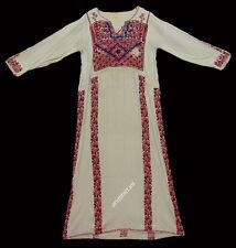 antik Orient Beduin palästinensisch Kleid Palestinian embroidered ethnic dress 6