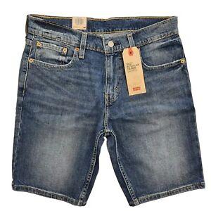LEVI'S 502 Regular Taper Fit Blue Denim Shorts in Billy Men BRAND NEW 32792-0026