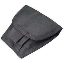 Condor Black MA47 MOLLE PALS Double Handcuff Modular HandCuff Pouch Case Holster