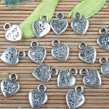 6pcs Tibetan silver phoenix design charms h0276