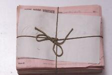 Oct 15 1932 Lamson Goodnow Piece Work Voucher Maunfacturing Pay Ephemera E13A