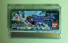 Digital Monster Card Game WonderSwan Color Digimon WSC JAPAN USED