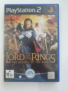 Lord Of The Rings: Return Of The King PS2 - Good Condition!