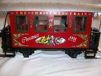 LGB Train G Scale 36078 Christmas Train Passenger Coach 1998