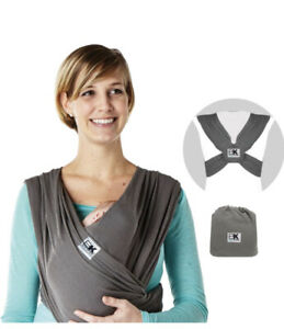 Baby K'TAN Breeze Baby Carrier Size M - 0 Months+ (Charcoal) *NEW*