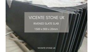 Rivened Slate Slab | Hearth | Table | Paving | 1500 x 900 x 20mm