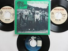 4 THE ALLMAN BROTHERS BAND HIT 45's+1P(Copy)[Straight From The Heart] 70's&80's!