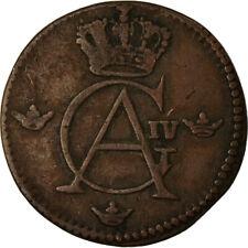 [#861951] Coin, Sweden, Gustaf IV Adolf, 1/12 Skilling, 1805, VF(30-35), Copper