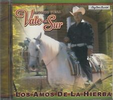 ANTONIO VIERA EL VALE DEL SUR LOS AMOS DE LA HIERBA CD NEW NUEVO SEALED
