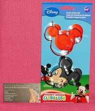 "Mickey Mouse, Metal Cookie Cutter Set, 3"",Wilton,Red,Black,2 Pack,2308-4440"