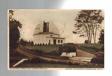 1934 Bandung Java Indonesia to South Africa Astronomical Observatory RPPC Cover