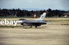 Diapositive - Color slide - F-16C 82-221/MJ - 432nd TFW - Misawa AB PACAF USAF