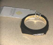 Kendra Scott Joel Stackable Ring Set in Mixed Metals Size 6