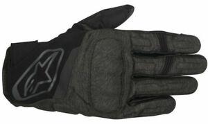 Alpinestars Motorcycle Gloves Syncro Drystar Waterproof Textile Grey Small