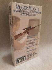 Ruger Mini-14 Armorer's Course And Maintenance And Technical Video VHS