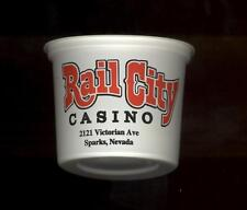 Rail City Casino - Slot Coin / Token Cup - Sparks Nevada