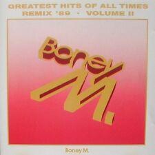 Boney M. Greatest Hits of all times-remix' 89-vol.2 [CD album]