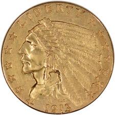 US Gold $2.50 Indian Head Quarter Eagle - Extra Fine - Random Date