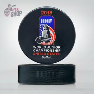 2018 Buffalo United States World Junior Championship hockey puck IIHF USA