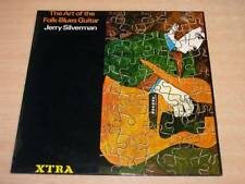 EX !! Jerry Silverman/The Art of The Folk Blues Guitar/1970 Xtra Mono LP