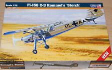 "MisterCraft 042046  Fieseler Fi-156C-3  ""Rommels Storch""  - Kit 1:72 - Neu / OVP"