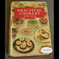*1950's Practical Cooking for All BOOK Full of Great Illustrations and Hints
