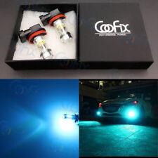 NEW 2x H8 H11 H16 8000K Ice Blue 100W High Power Cree LED Fog Light Driving Bulb