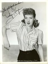 Lovely Vintage EVELYN KEYES Signed Photo - Gone With The Wind