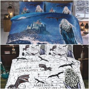 Game of Thrones Theme Design Mother of Dragon 3D Duvet Cover set with Pillowcase