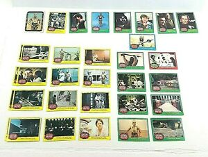 1977 Topps Star Wars Lot of 33 Cards Fair to Good Condition - Yellow Green Red