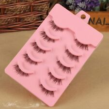 Nature Cross Faux Cils Manual Half Sell Like Cakes Eye End Pull False Eyelash
