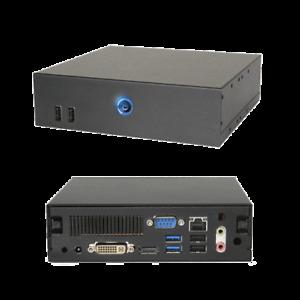 AOpen DE35-HD 4GB DDR3 RAM 320GB HDD Digital Engine Mini Media Computer AMD CPU