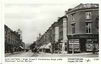 London Postcard - Old Sutton - High Street / Carshalton Road c1913 - A3852