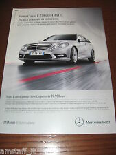 *AN12=MERCEDES CLASSE E=PUBBLICITA'=ADVERTISING=WERBUNG=COUPURE=