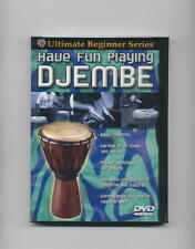 HAVE FUN PLAYING DJEMBE DVD DRUMS HAND NEW DRUM