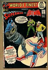 World's Finest #207 - Superman and Batman! - 1971 (Grade 7.0) WH