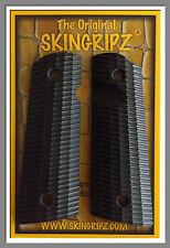 """1911 Grips (Magwell) - """"RIDGEBACKS"""" Full Size Sig Sauer - (Black) -SkinGripz !"""