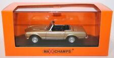 Camión de automodelismo y aeromodelismo MINICHAMPS color principal oro