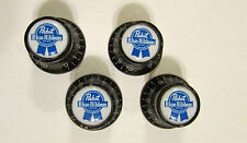 Pabst Blue Ribbon Guitar Knobs, Pabst Beer logo volume Guitar Knobs, Pabst knobs