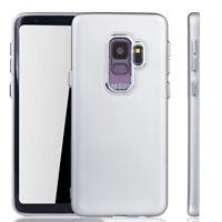 Samsung Galaxy S9 Funda Estuche Móvil Protector Carcasa de Plata