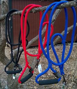 "Timberwolf Dog Leash Alpine Lead - Urban Handle 7/16"" Rolled 6ft Made in USA"