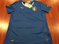 Authentic Puma Italy Women's Away Soccer Jersey Large L Italia