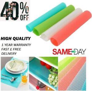 Antibacterial Cabinet Easy Clean Pad Kitchen Anti Slip Fridge Liner Drawer Mat