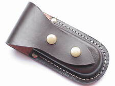 QUALITY LEATHER KNIFE POUCH--HORIZONTAL(102BRH)