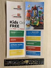 Discount LEGOLAND Kid Free Ticket Voucher LEGO Resorts Discovery Centre Children
