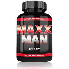 Maxx Man - Testosteron Booster - schneller Muskelaufbau - anabol - Testo Booster