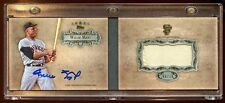 2013 TOPPS 5 STAR WILLIE MAYS AUTO PATCH/JERSEY GOLD JUMBO #D 06/10 MINT RARE