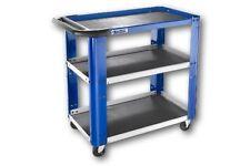 Organizzazione degli utensili carrello portautensili blu per il bricolage e fai da te
