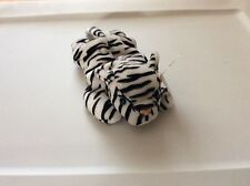 Ty Beanie Baby Blizzard The Tiger-- 1996-PVC-style#4163-RARE 4th gen- free ship
